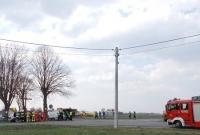 Wypadek w Przysiece! W akcji śmigłowiec LPR