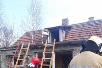 Pożar opuszczonego budynku w Wierzycach!