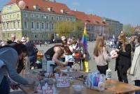 Organizatorzy Marszu Równości spotkali się z mieszkańcami Gniezna