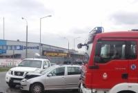 Zderzenie na skrzyżowaniu w Gnieźnie