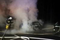 Spłonął policyjny radiowóz!