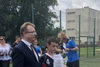 Piotr Reiss gościem honorowym XI Ogólnopolskiego Turnieju Piłki Nożnej Szkół Specjalnych