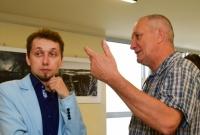 Wernisaż wystawy gnieźnieńskich fotografów w Czytelni I LO