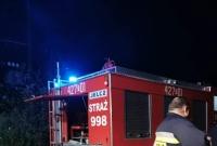 Pożar ścierniska w Czechowie. Strażacy chwalą rolników