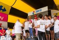 Mieszkaniec Gniezna i mieszkanka Lednogóry w Tour de Pologne