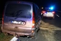 Renault Kangoo rozbite na trasie S5