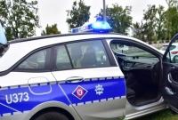 Kolejny jednoślad rozbity na Trasie Zjazdu Gnieźnienskiego