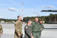 Wizyta Dowódcy Sił Powietrznych Gwardii Narodowej stanu Illinois