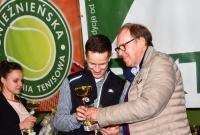Mistrzostwa Gniezna w Tenisie Ziemnym dobiegły końca! Nagrody wręczył Wojciech Fibak!