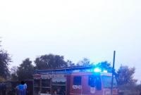 Pożar samochodu w Pakszynie