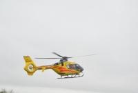 Zabrakło karetek - wezwano śmigłowiec Lotniczego Pogotowia Ratunkowego