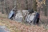 Pojechali do wypadku - znaleźli tylko samochód