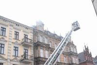 Pożar kamienicy przy ul. Chrobrego w Gnieźnie!