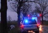 Kolejny wypadek między Niechanowem a Witkowem! Do szpitala trafiło dziecko