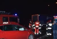 Wypadek na Trasie Zjazdu Gnieźnieńskiego