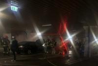 Pożar auta na parkingu pod Kauflandem! Ewakuowano 250 osób