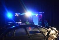 Wypadek na wylocie z Gniezna w kierunku Wrześni! Czołowe zderzenie dwóch samochodów!