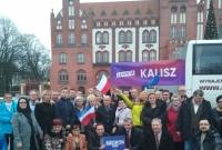 Gnieźnieńska Lewica na inauguracji Kampanii Prezydenckiej Roberta Biedronia