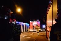Pożar przy ul. Laubitza w Gnieźnie! W garażu znaleziono spalone zwłoki