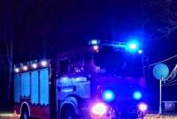 Pożar na terenie Ośrodka Wypoczynkowego w Skorzęcinie