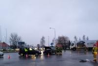 Wypadek na skrzyżowaniu ul. Gdańskiej z Trasą Zjazdu Gnieźnieńskiego