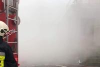Pożar kotłowni w Modliszewie