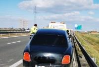 Bentley, Jaguar i Renault rozbite na drodze ekspresowej S5