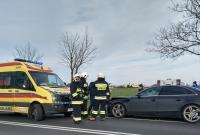 Wypadek w Żydowie! Jedna osoba w szpitalu