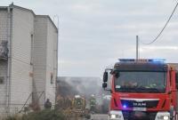 Pożar przy ul. Powstańców Wielkopolskich w Gnieźnie