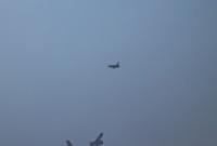 Tankowanie F-16 z latającej cysterny - foto: Tomasz Urbański