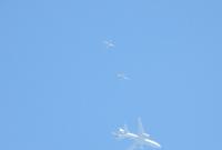 Tankowanie F-16 z latającej cysterny - foto: Piotr Nadolny