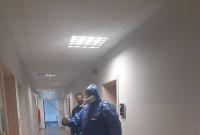 Komenda Policji została poddana dezynfekcji