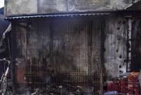 Podpalenie sklepu przy ul. Budowlanych w Gnieźnie! Mężczyzna podłożył ogień, a następnie zaatakował swojego znajomego!