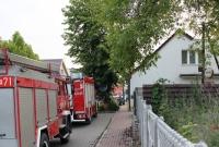 Pożar w Trzemesznie! Do akcji wysłano 5 zastępów Straży Pożarnej