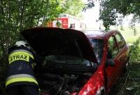 Zawodowy kierowca kierował Oplem mając 2,8 promila alkoholu! Zakończył jazdę w zaroślach!