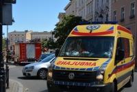 Wypadek w centrum Gniezna