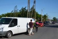 Kolizja na skrzyżowaniu ul. Słonecznej i Kawiary w Gnieźnie