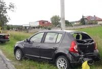Kolizja trzech aut w Żelazkowie
