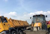 Kolizja z udziałem ciężarówki