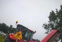 Kolizja trzech pojazdów w Lulkowie