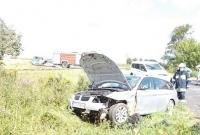 Wypadek przy przejeździe kolejowym! Jedna osoba w szpitalu
