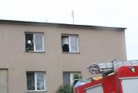 Próbował podpalić mieszkanie! Został zatrzymany i trafił do szpitala