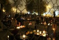 Gnieźnieńskie cmentarze wieczorem