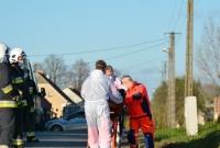 Poważny wypadek w Żydówku! 5-latek wbiegł pod samochód!