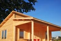 Prosty montaż drewnianych domów