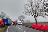 Tragiczny wypadek na trasie Gniezno - Września! Nie żyją 21-letni mieszkańcy naszego powiatu