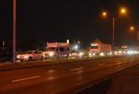 Zderzenie na skrzyżowaniu ul. Poznańskiej i Topolowej w Gnieźnie