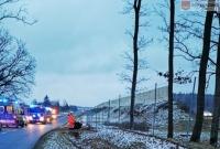 Wypadek w Wierzycach