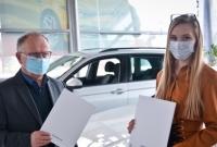 Volkswagen Berdychowski sponsorem Aleksandry Politowicz