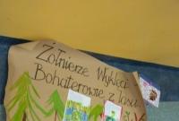 Najmłodsi uczniowie Dwójki pamiętali o Żołnierzach Wyklętych